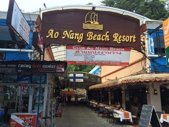 Ao Nang Beach Resort: hotel