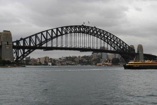 Sydney Harbour Bridge: Dominates the skyline