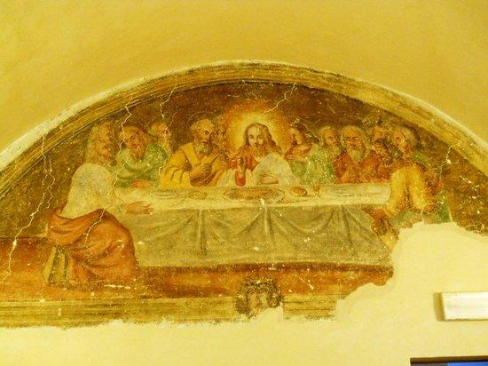Convento di Santa Croce: affresco