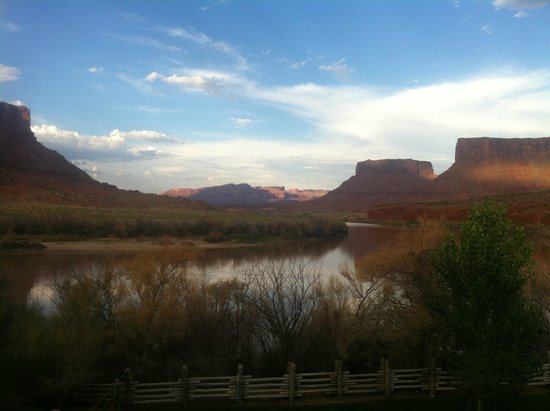 Red Cliffs Lodge: View From Room!