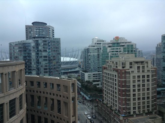 The Westin Grand, Vancouver : View from our suite.