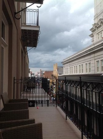 Hyatt Centric French Quarter New Orleans: Love this view!