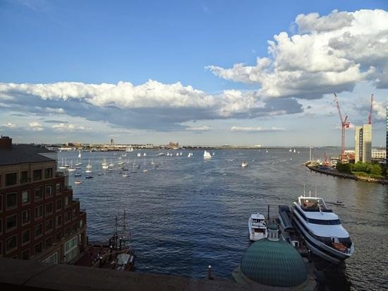 Boston Harbor Hotel: view from the room