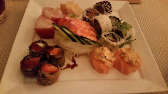 Mizu Sushi & Anti-Sushi : 18 peças