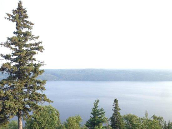 La Pourvoirie du Cap au Leste : Une vue magnifique du fjord du Saguenay, proche de Tadoussac