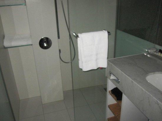Pullman Eindhoven Cocagne: salle de douche avec douche effet pluie
