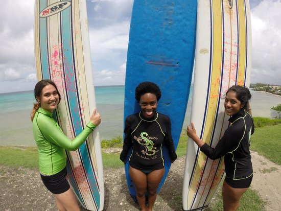 Bodie's School of Surf: First surf lesson! :)