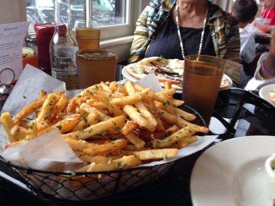 Slice of Life: Basket if truffle fries