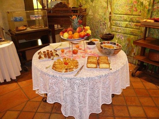 Chateau de Cavanac : petit déjeuner