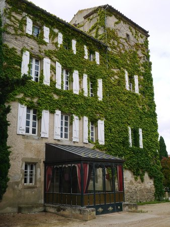 Chateau de Cavanac : façade de l'hôtel