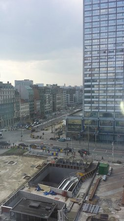 Crowne Plaza Hotel Brussels - Le Palace: view from room