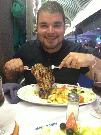 El Rey de la Gamba-2: Big Steak!!
