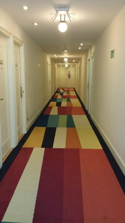 Crowne Plaza Hotel Brussels - Le Palace : corridor