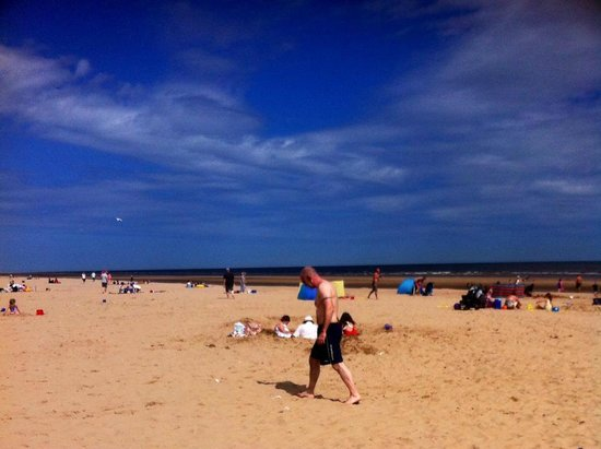Golden Sands Holiday Park - Haven: Lovely Beach, No complaint's.