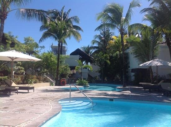 Emeraude Beach Attitude: pool area
