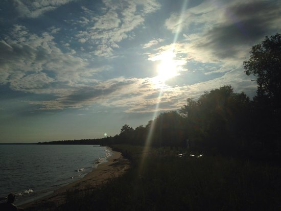 Madeline Island : Sunset