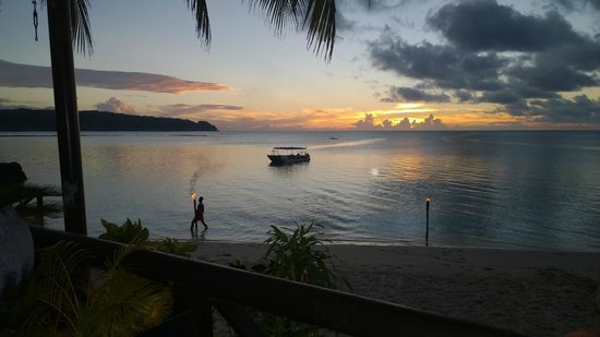 Le Lagoto Resort & Spa: sunset at le lagoto