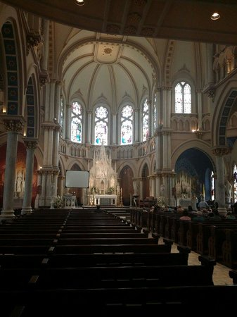 St. Joseph's Catholic Church: Inside of the Church