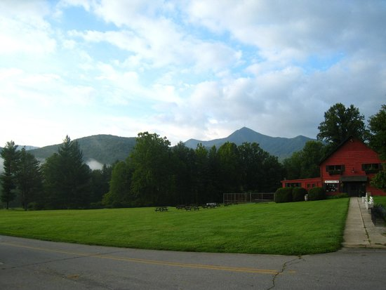 Pisgah View Ranch: Mt. Pisgah finally comes out from the clouds!