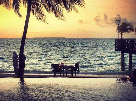 Sun Aqua Vilu Reef: Pool bar