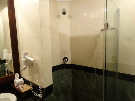 Prince D'Angkor Hotel & Spa : シャワーブースとバスタブは別になっています
