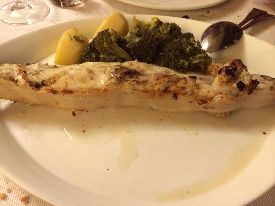 Restaurante Asador D'berto: Rodaballo a la brasa