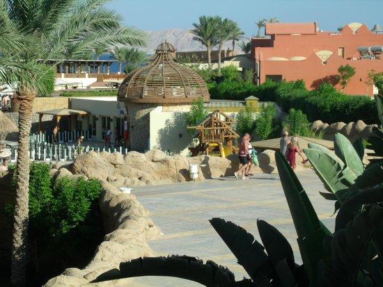 Sharm Grand Plaza: View from Tiran