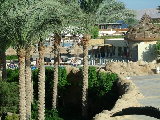 Sharm Grand Plaza : View from Tiran