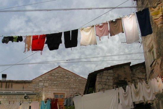 Apartments Djanovic: ropa croata