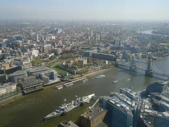 The View from The Shard: The Tower of London