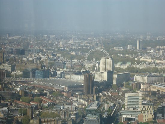 The View from The Shard: London Eye