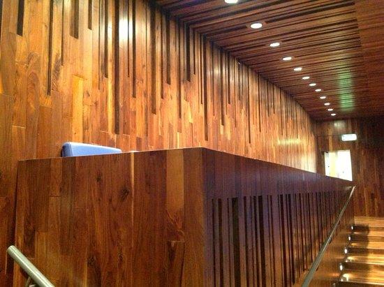 National Opera House: Wonderful acoustic wood cladding