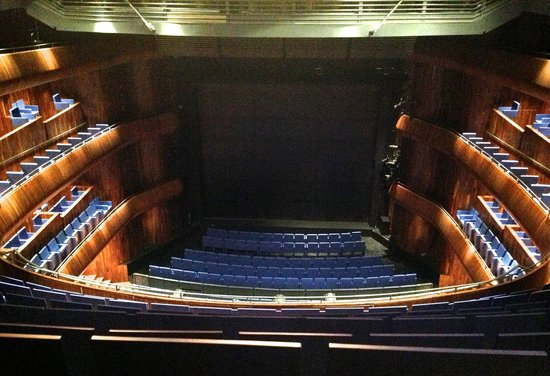 National Opera House: View from the top balcony