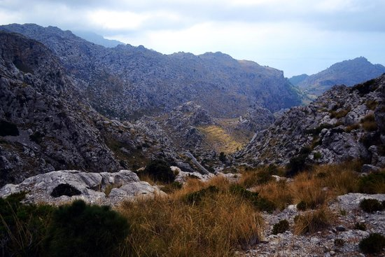 Sa Calobra: Roads view (zoom in for detail)
