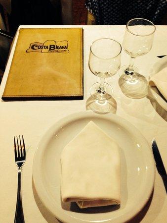 Costa Brava : Restaurante maravilhoso!!!