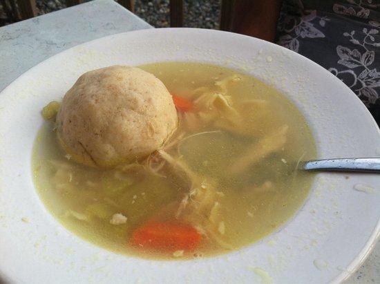 Rosenfeld's Jewish Delicatessen: Matza Ball Soup