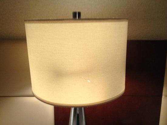 HoteLumiere: Damaged lamp
