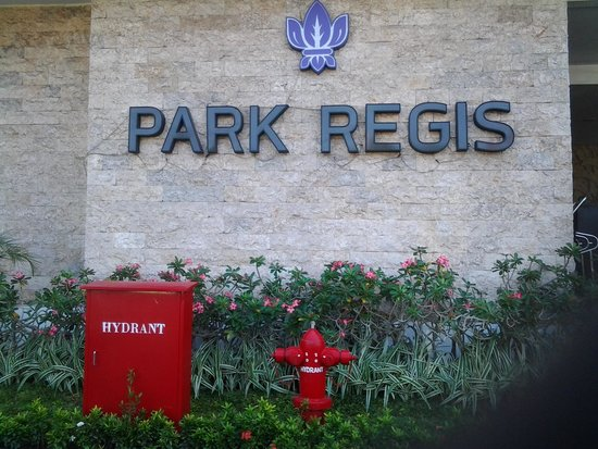 Park Regis: In front the hotel