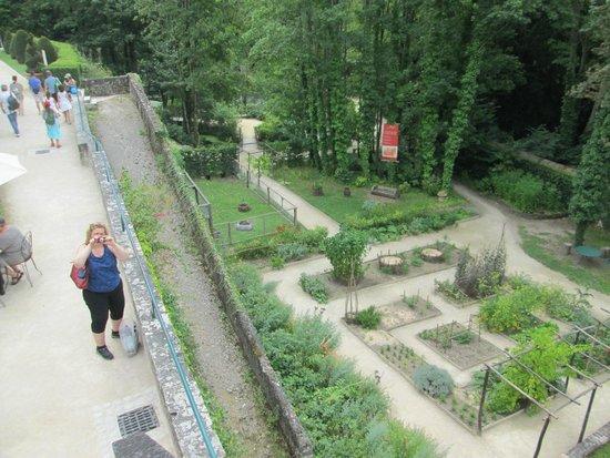 Le Chateau du Clos Luce - Parc Leonardo da Vinci: Une vue d'une partie des jardins