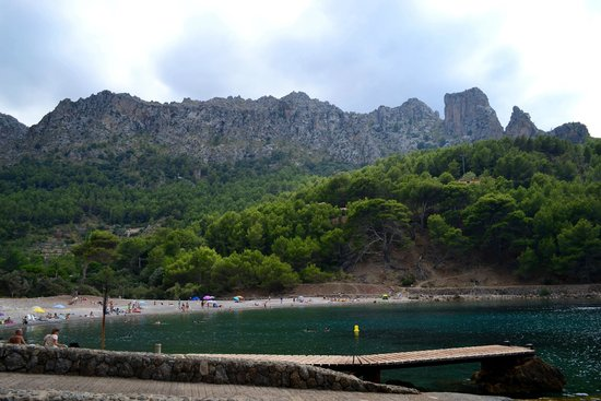 Cala Tuent: The Mountains