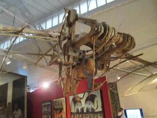 Le Chateau du Clos Luce - Parc Leonardo da Vinci: La machine volante