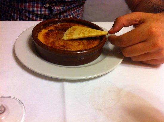 7 Portes: crema catalana