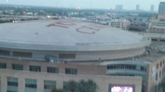 Embassy Suites by Hilton Houston Downtown: Toyota Center from room
