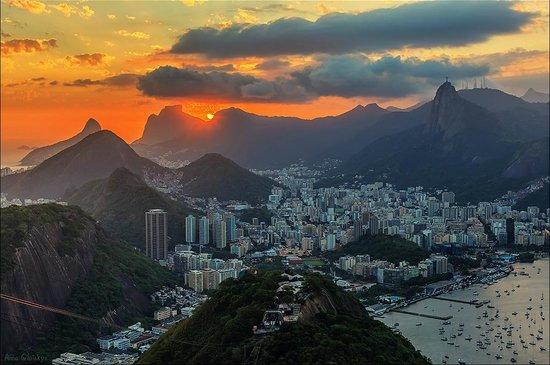 Pain de Sucre : Закат над Рио