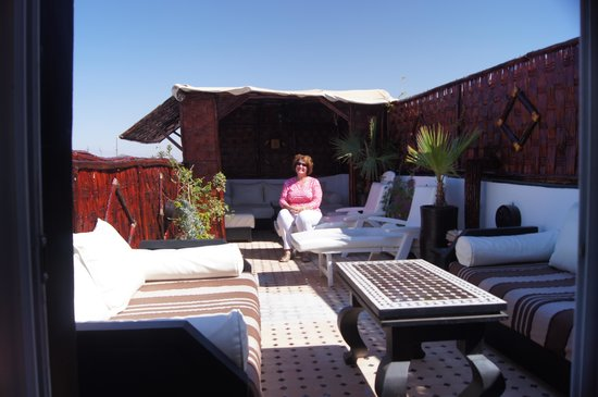 Riad Dar Najat: Enjoying the Terrace