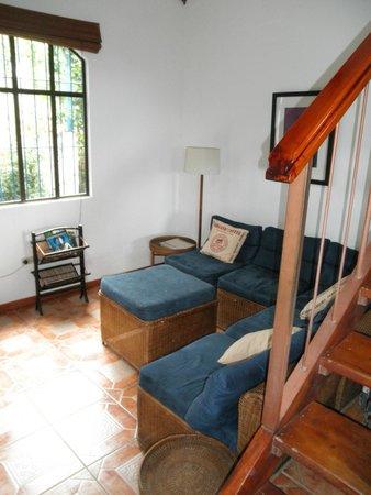 Orosi Lodge : Chalet living room