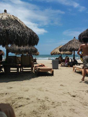 Paradise Village Beach Resort & Spa: Beach view...