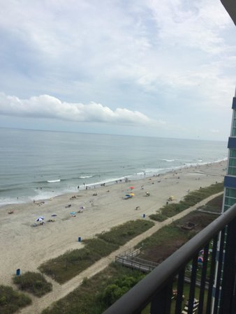 Carolinian Beach Resort: Best western Carolinian 10th floor ocean view.