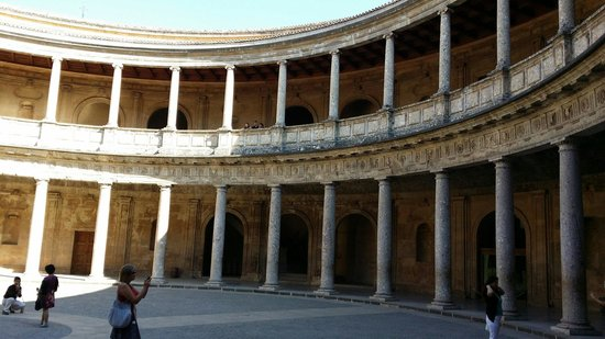 Alhambra: Palacio de Carlos v