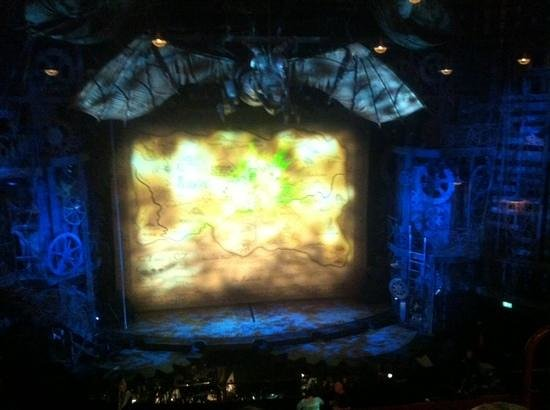 Wicked the Musical : View from Dress Circle Row C Seats 26-27